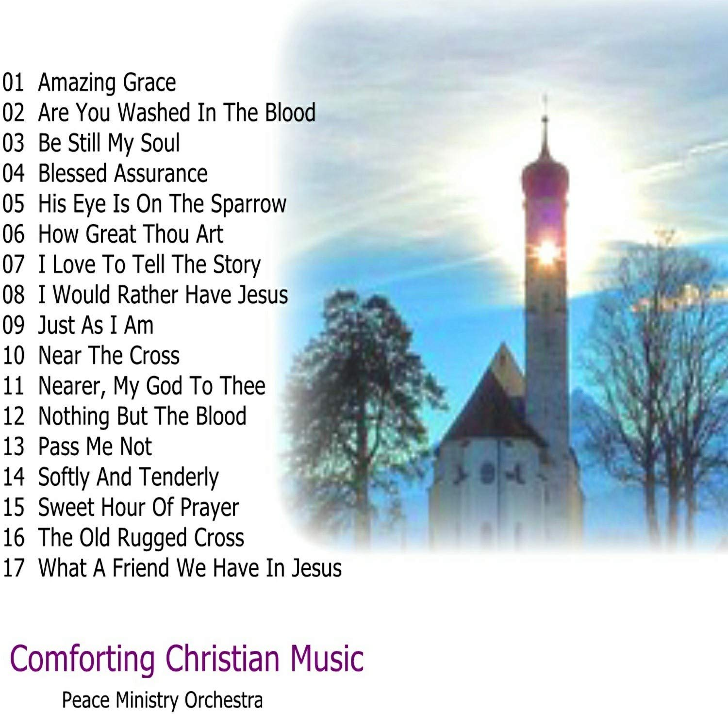 Comforting Christian Hymns Orchestra Instrumentals