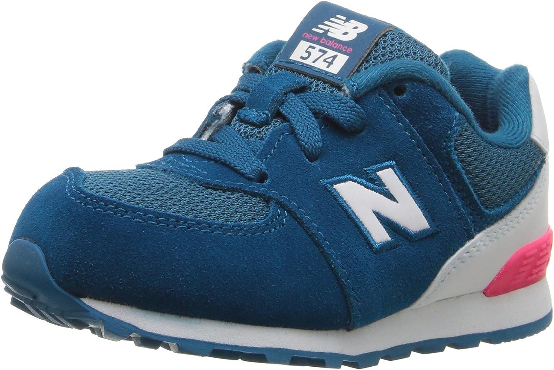 Cría autobiografía radio  Amazon.com | New Balance Kids' 574 V1 Fashion Lace-Up Sneaker | Sneakers