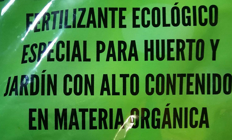 Abono ecológico orgánico con acidos humicos para 25 Metros ...