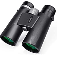 12x42 Binoculars for Adults - HD Low Light Night Vision - Compact Lightweight (1.05lb) - Powerful BAK4 Prism FMC Lens…