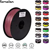Pxmalion ABS 3D Filament, Rosy Brown, 1.75mm, Accuracy +/- 0.03mm, Net Weight 1KG(2.2LB), Compatible with most 3D Printer & 3D Printing Pen