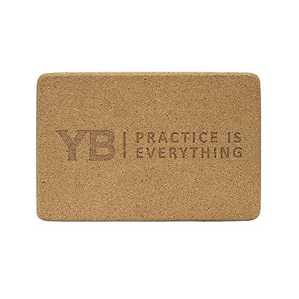 Amazon.com: yogabody Naturals bloque de yoga de corcho ...