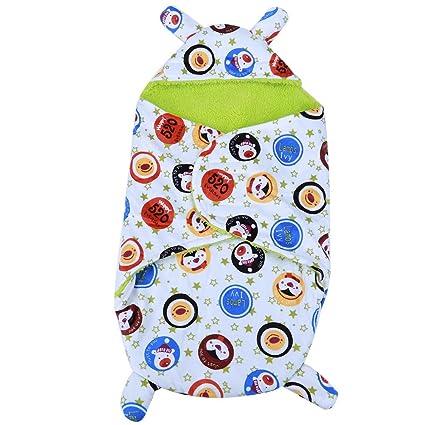 domybest domybest invierno bebé Swaddle Wrap Cálido mantas recién nacido bebé pijamas de suave saco de