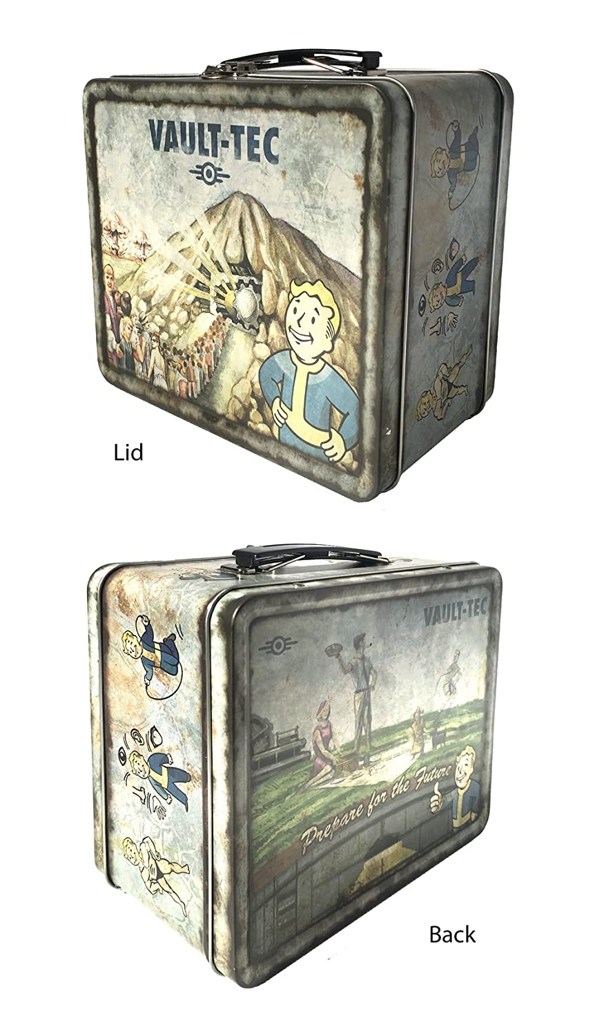 FanWraps Fallout 4 Vault-Tec Weathered Tin Tote Replica by FanWraps Inc. FWFO 3001