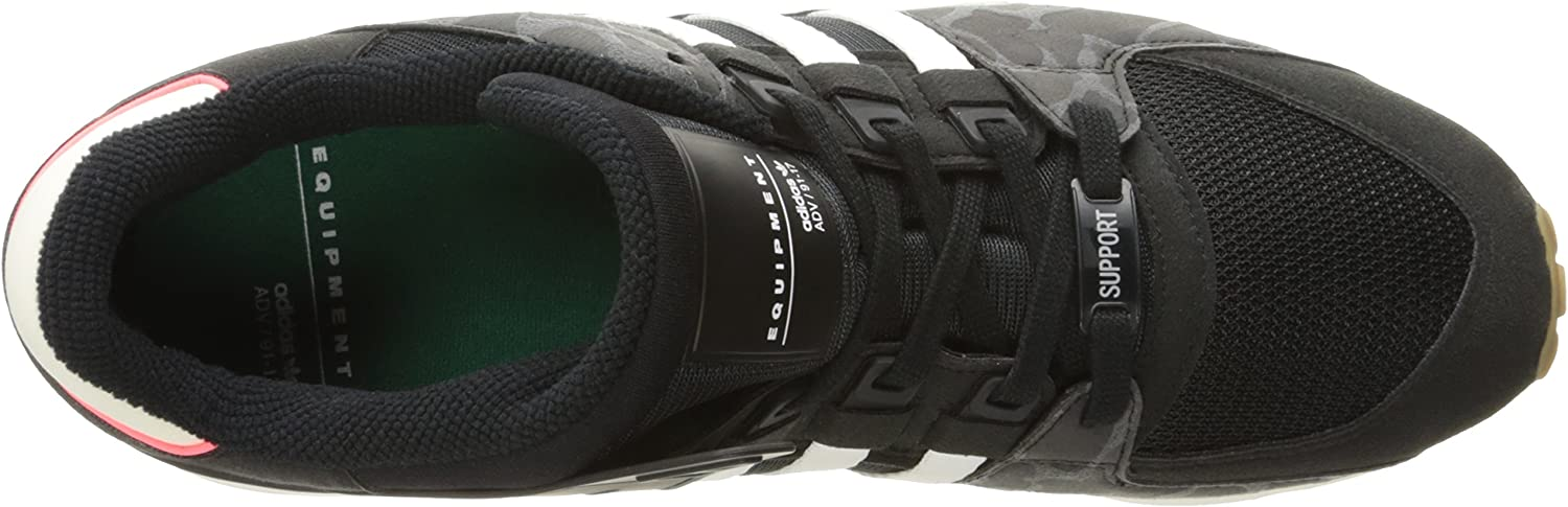 adidas Originals Herren EQT Support Rf Fashion Black Legacy Black
