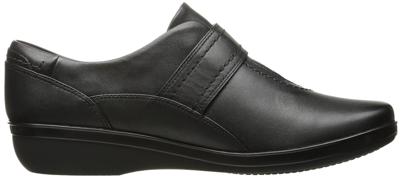 CLARKS Woherren Everlay Dixey Dixey Dixey Slip-On Loafer schwarz Leather 8 M US f6f091