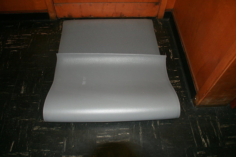 3 Width x 5 Length x 3//8 Thickness Rhino Mats CSE-3660 Comfort Step ESD Static Dissipative Anti-Fatigue Mat Gray