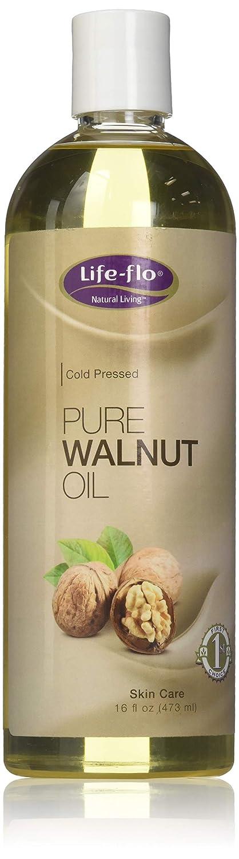 Life-Flo Pure Walnut Oil, 16 Fluid Ounce