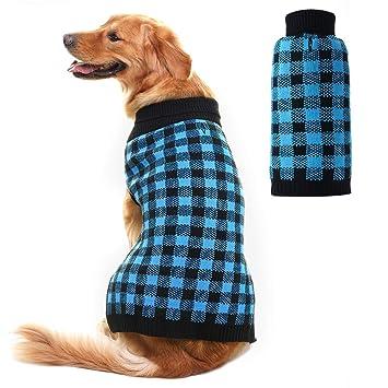 Amazon.com: PUPTECK - Sudadera para perro, estilo cuadrado ...
