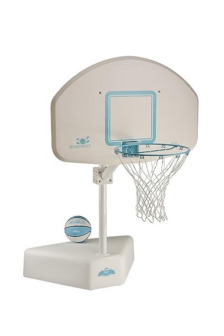 Amazon.com: Dunnrite Splash and Shoot Swimming Pool Basketball Hoop ...