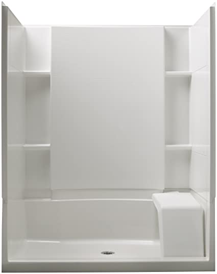 Sterling Plumbing 72290106 0 Accord Seated 36 Inch X 60 Inch X 74 1