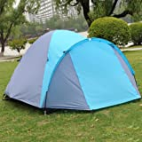 ShinyFunny 3-4 Person Four Season Waterproof Family Outdoor Camping Traveling Backpacking Instant Sports Tent with Carry Bag