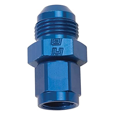 Edelbrock 659950 Fitting Flare Expander #4 An Female To #6 An Male Blue Anodized Finish: Automotive