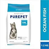 Purepet Adult Cat Food, Ocean Fish, 1.2 kg