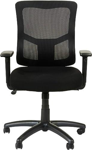 Alera Elusion II Series Mesh Mid-Back Swivel/Tilt Chair