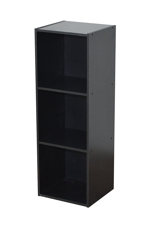Alsapan 13 478161 - Mobiletto portaoggetti Compo con 3 vani, 31 x 29,5 x 92,5 cm, nero Compo 13