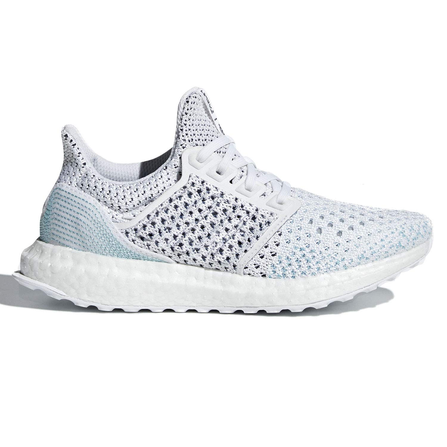 adidas Ultra Boost Parley Kids Cloud White/Blue Spirit B43512 (Size: 3.5)