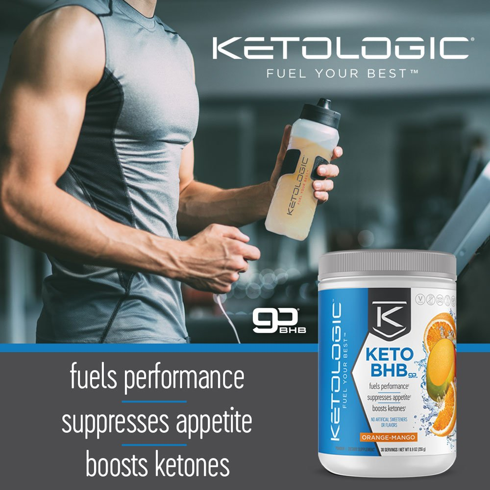 KetoLogic BHB,  Patriot Pop | Ketone Supplement, Suppresses Appetite, Increases Energy, Low Carb, Electrolytes, Beta-Hydroxybutyrate Salts | 60 Servings by Ketologic (Image #6)
