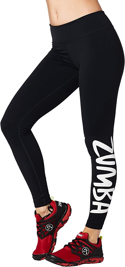 Zumba Dance Leggings Estampados Pretina Ancha de Cintura Fitness ...