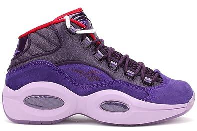 Reebok Question Mid Basketball Shoes - Purple Ink/Fearless Purple-Purple /Oasis-