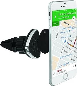 iHome Magnetic Car Vent Phone Mount - Black