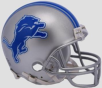 8a9e4357f34 Riddell NFL DETROIT LIONS Speed Mini Helmet  Amazon.co.uk  Sports   Outdoors