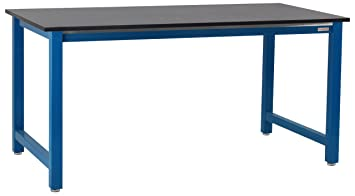 "Kennedy Workbench with 3/4"" Chemical Resistant Phenolic Resin Top, 6,000 lbs Capacity"