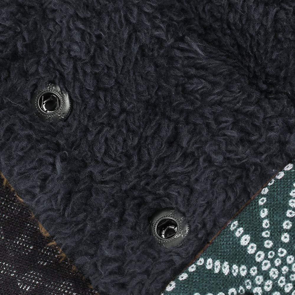 Veste Kimono Gilet Blazer Manteau Hiver Femme Plus Taille Encapuchonn/é Longue Manche Ancien Dames Toison /Épais Fermeture /éclair V/êtements dext/érieur