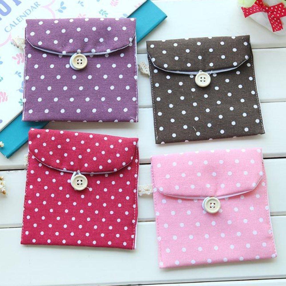 BIGBOBA monederos de mujer de tejido, pequeños, para almacenar llaves, móvil, barra de labios, tarjetas (2pcs)