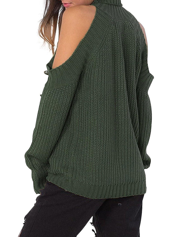 OnIn Pullover-sweaters SWEATER レディース B077993KTB  アーミーグリーン One Size