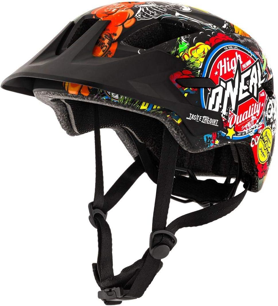 Negro Casco Bicicleta para Ni/ños M ONeal ROOKY Youth Crank