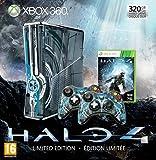 Console Xbox 360 320 Go + 2 Manettes + micro-casque + Halo 4 - bundle édition limitée