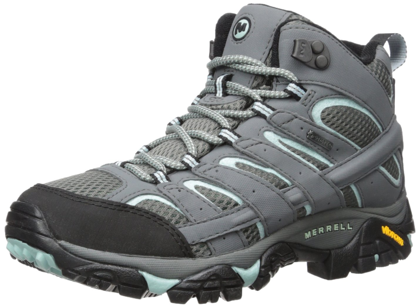 Merrell Women's Moab 2 Mid Gtx Hiking Boot, Sedona Sage, 8.5 W US by Merrell