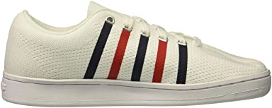 Classic 88 Knit: White / Navy / Red