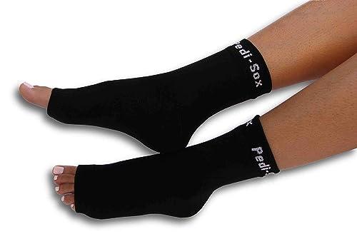 d0d64e7abc5fd Image Unavailable. Image not available for. Color  Original Pedi-Sox® Brand  Open-Toe Socks ...