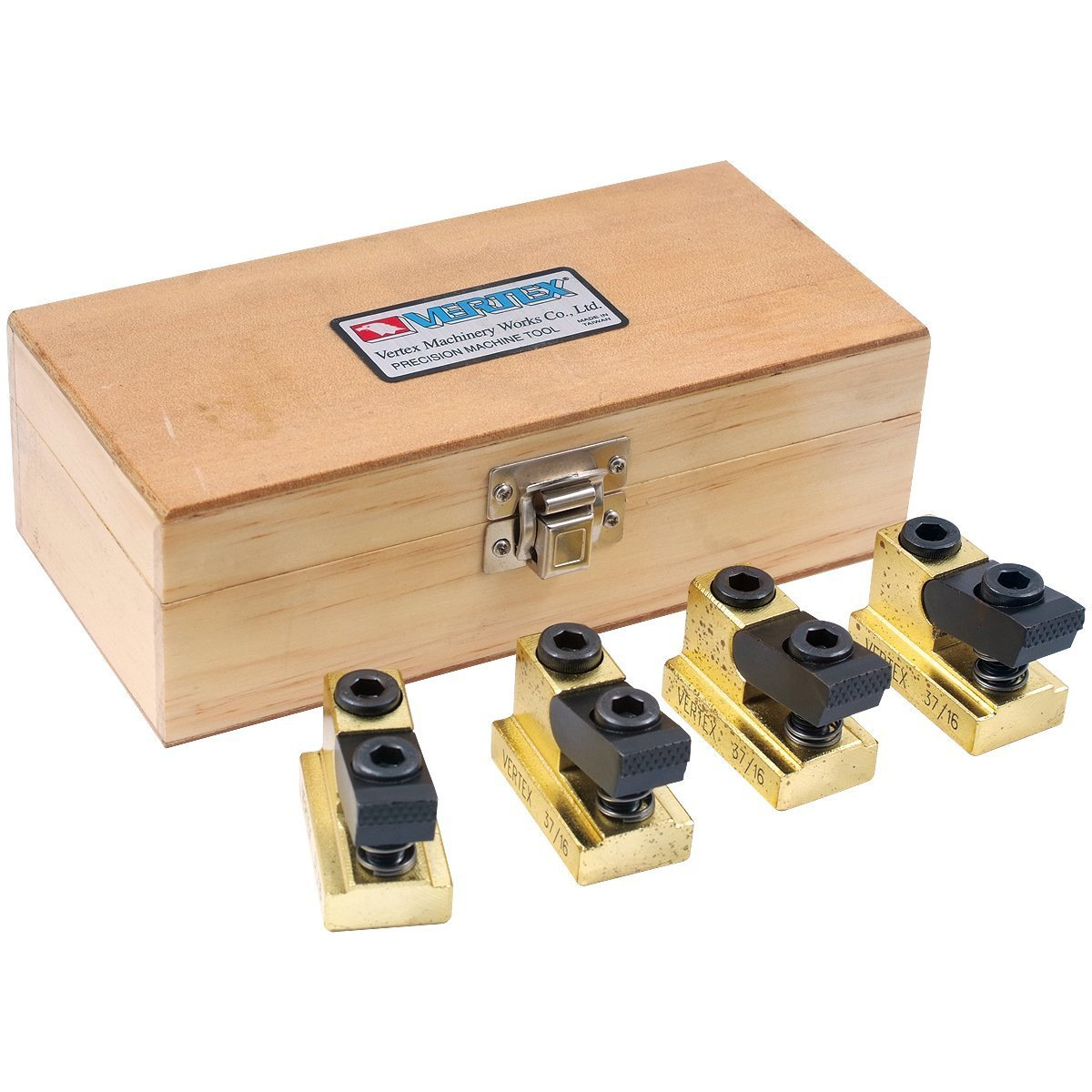 HHIP 3900-0315 Pro-Series 4 Piece 1/2'' T-Slot Clamping Nut Kit