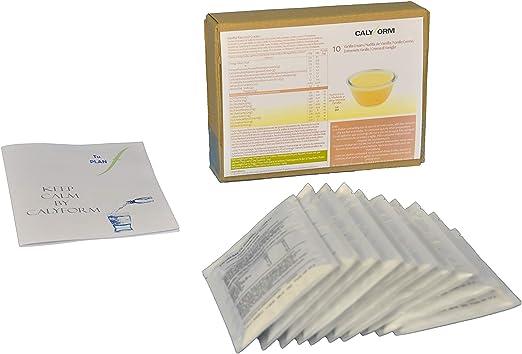 CALYFORM Natillas proteicas para dieta sabor Vainilla saciante | Proteína en polvo para preparar natillas de calidad y aporte en aminoácidos ...