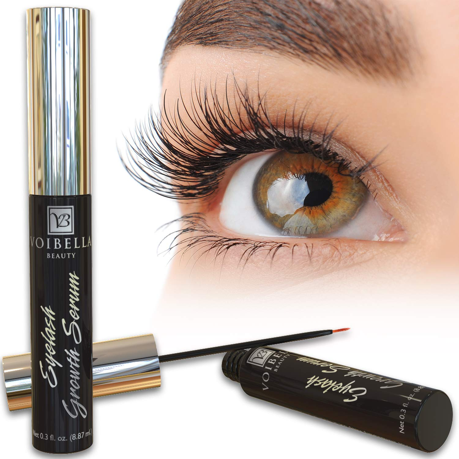 57db39d2908 Voibella Eyelash Growth Serum & Eyebrow Enhancer - Best Natural Eye ...