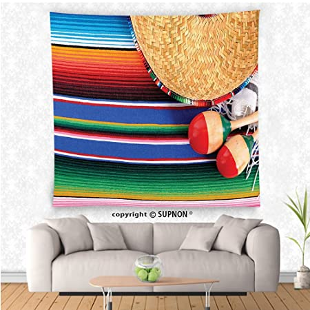 Vroselv Custom Tapestry Mexican Decorations Collection Mexican