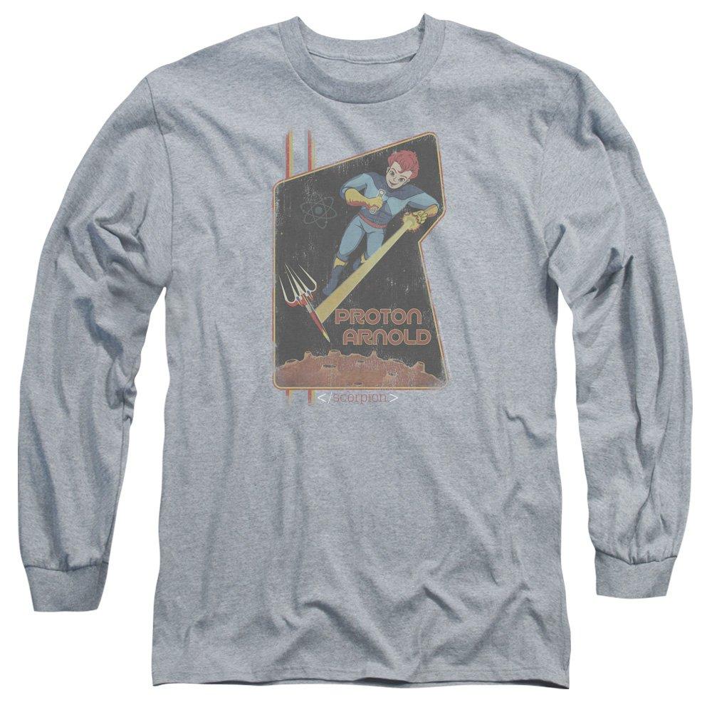 Scorpion Mens Proton Arnold Poster Long Sleeve T-Shirt
