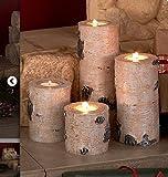 Set of 4 Woodland Tea Light Candleholders by GetSet2Save