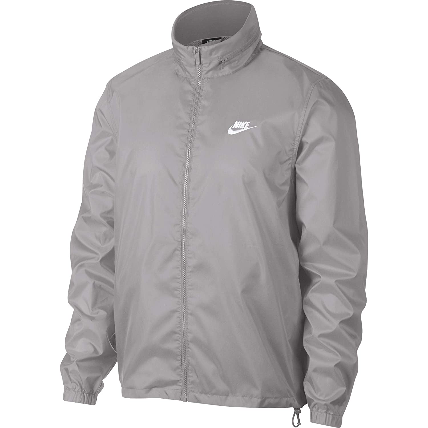 ee4a693a0434 Nike Men s Sportswear Hooded Windbreaker Jacket at Amazon Men s Clothing  store