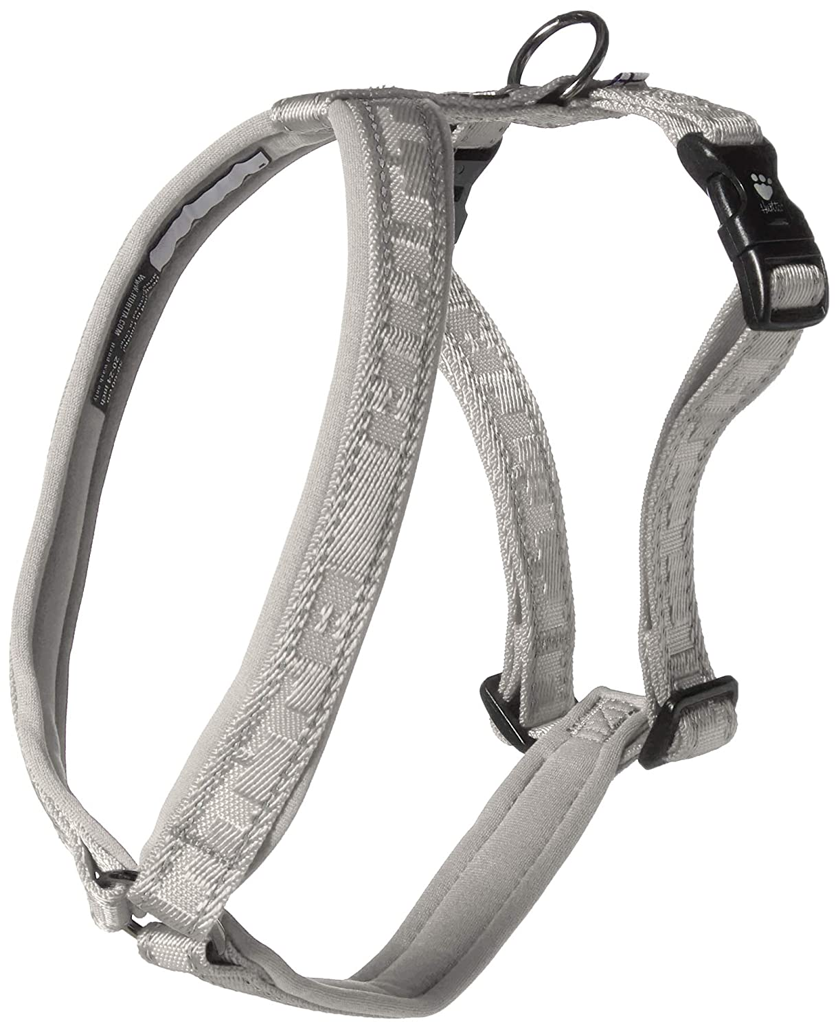 Hurtta Casual Perro Acolchado Y-Harness, Ceniza, 45,72 cm: Amazon ...