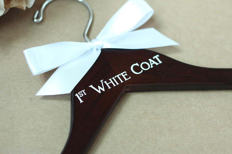 PhD Gift New Doctor Gift Lab Coat Hanger Pharmacist Gift First White Coat Hanger Decal Medical School Graduation White Coat Ceremony