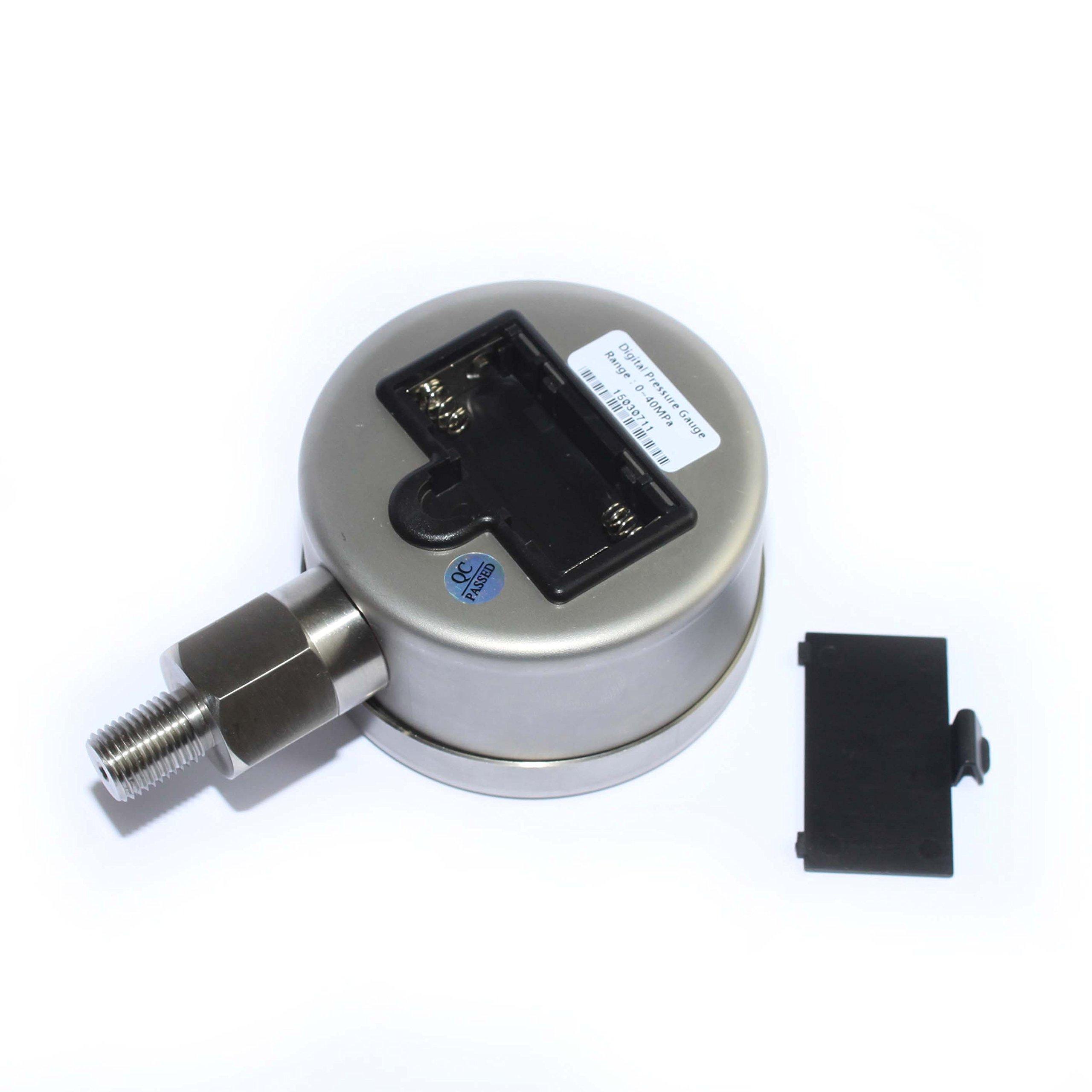 XZT Digital Hydraulic Pressure Gauge 10000psi/700bar-1/4npt-base Entry by XZT (Image #2)