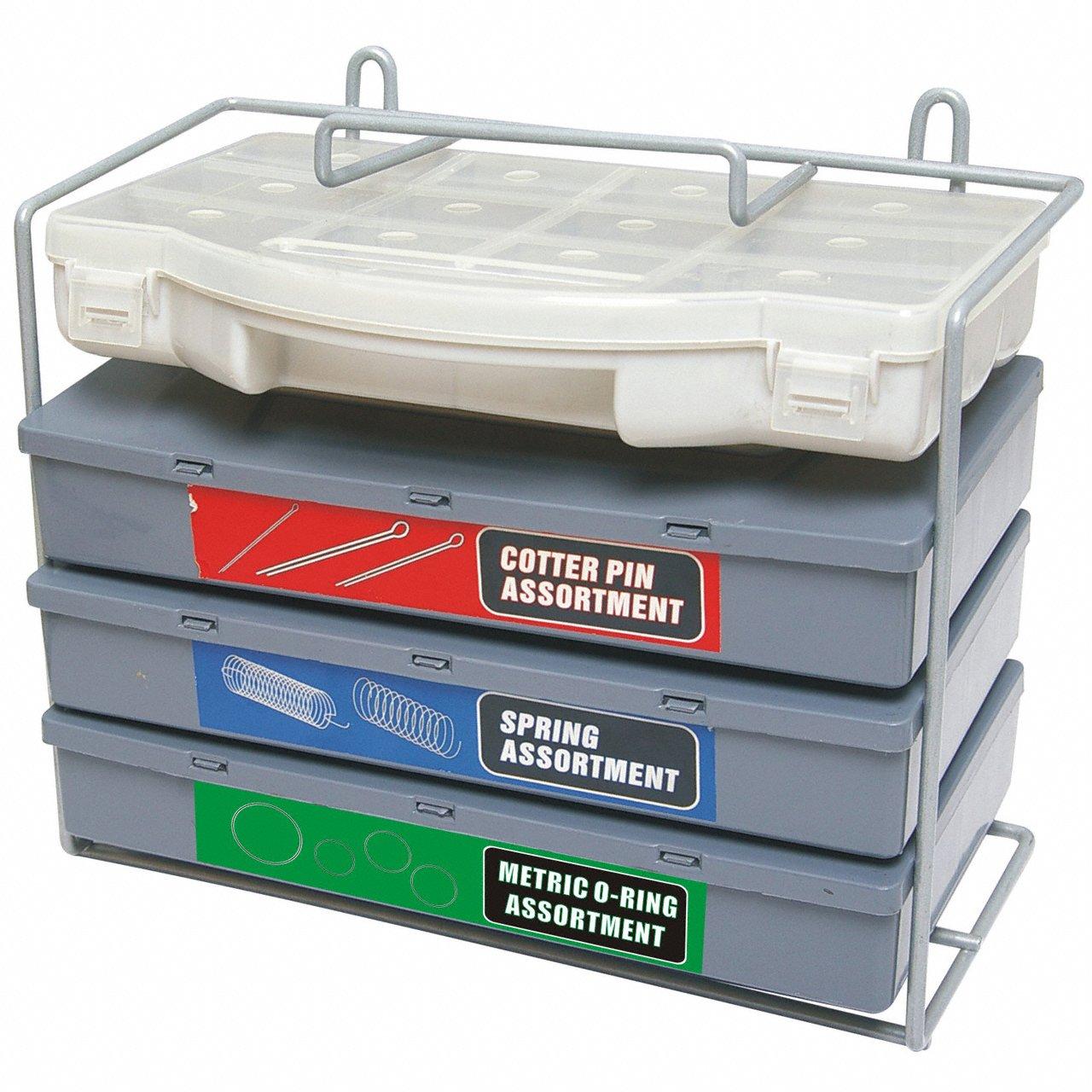 Splinte-Sortiment/Sicherungssplinte-Sortiment Federn-Sortiment und O-Ring Sortiment fü r Werkstatt oder Garage 1000-tlg. (im Aufbewahrungsbox/Sortimentsbox) Alkan