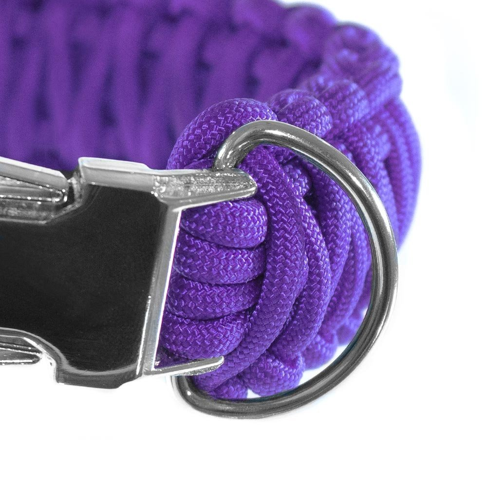 """20 Ideal for Paracord Dog Collar or Bracelet Belt or 100 Available in Packs of 5 10 50 PARACORD PLANET Metal Silver 3//4/"""" D-Rings"""