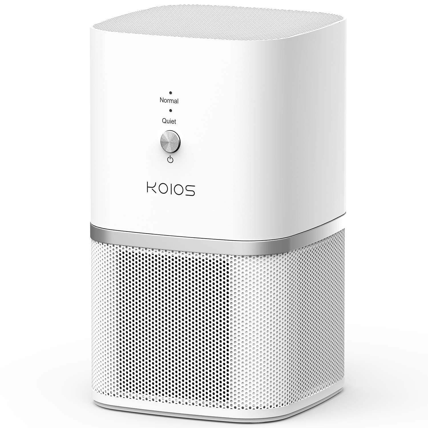 KOIOS Air Purifier, True HEPA Filter Air Purifier for Home, Offices Bedrooms, Air Cleaner for Allergies and Pets, Smokers, Mold, Pollen, Dust, Whisper-Quiet, 100 Ozone-Free