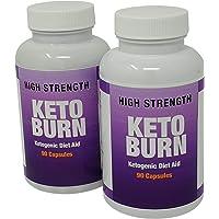 Keto Burn Ketogenic Diet Aid Appetite Suppressant Weight Loss Slimming Pills 90 Capsules Per Pot (2)