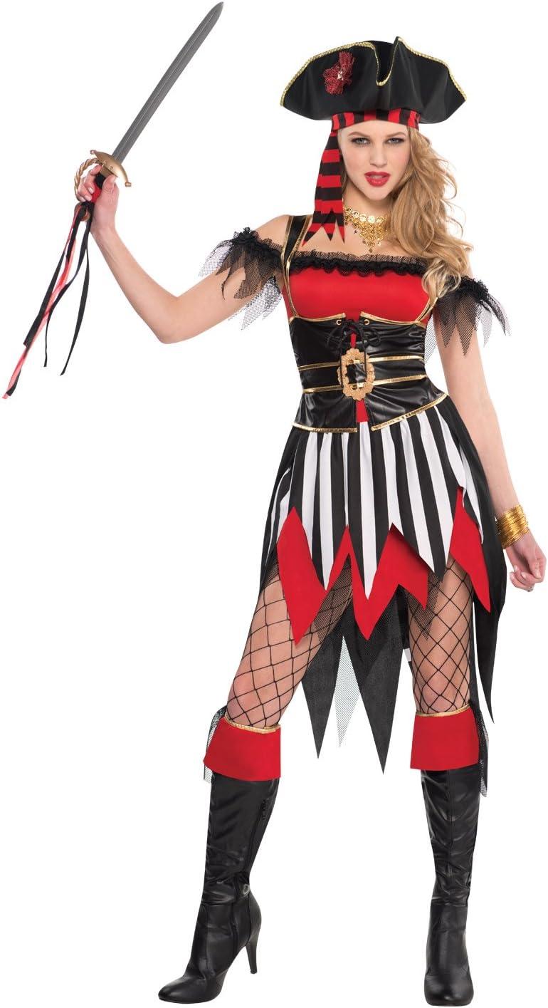 Christy`s - Disfraz de naufrago para mujer, talla L (996962): Amazon.es: Juguetes y juegos